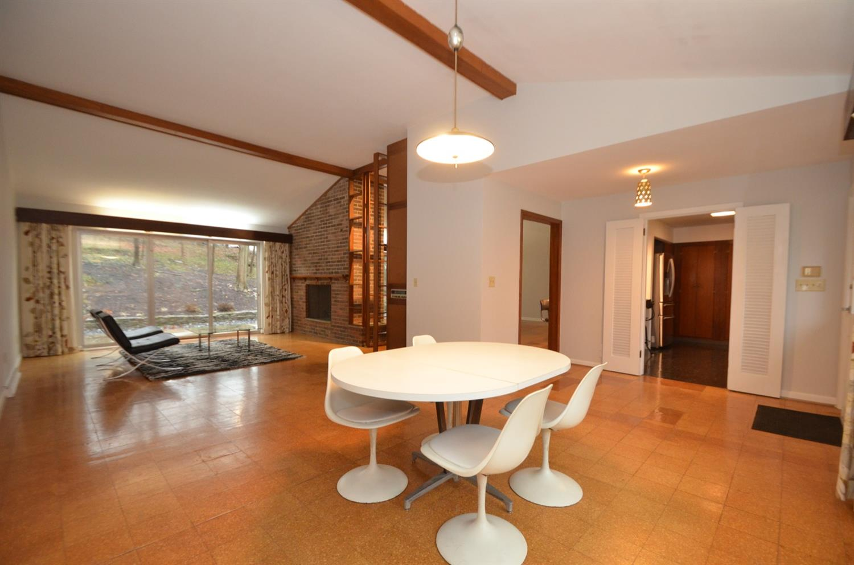 Open Midcentury Modern floorplan