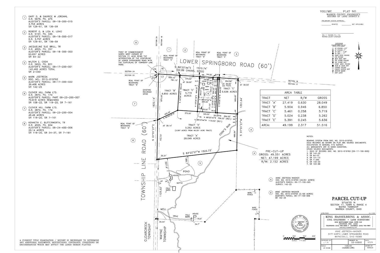 Property for sale at 0 Lower Springboro Road, Wayne Twp,  Ohio 45068