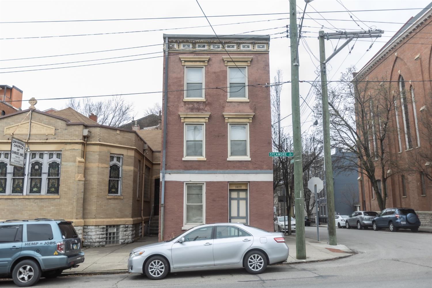 Property for sale at 1417 Sycamore Street Unit: 3, Cincinnati,  Ohio 45202