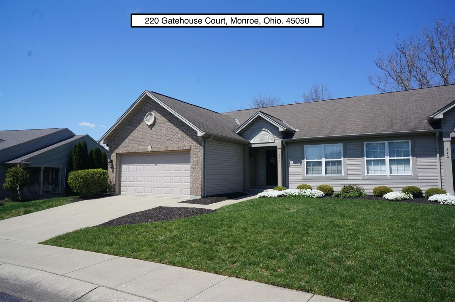 Property for sale at 220 Gatehouse Court, Monroe,  Ohio 45050