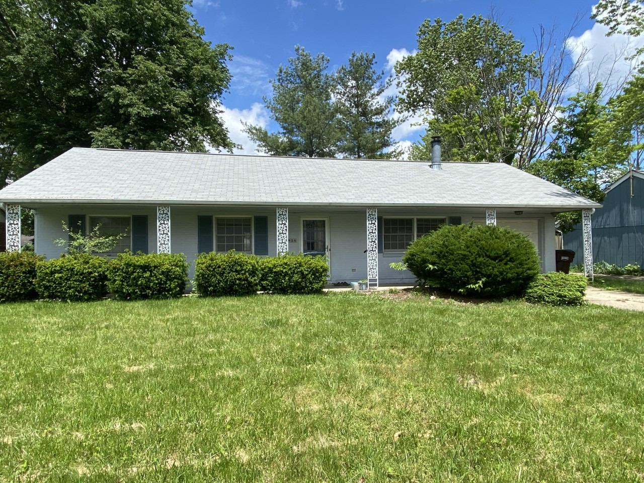 Property for sale at 418 Edgehill Drive, Oxford,  Ohio 45056