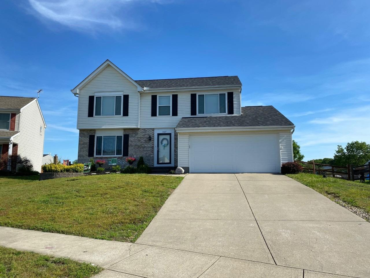 Property for sale at 107 Carrie Drive, Harrison,  Ohio 45030