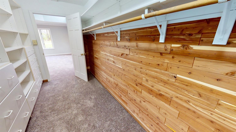 Master Cedar-lined Closet