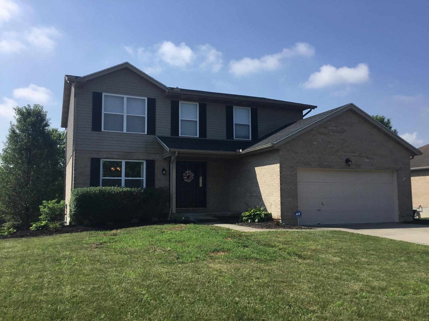 Great location! 2650 sq ft. 4/5 bedroom home. Home features finished basement with study/or exercise room, a 5th bedroom, and family room, which walks out to super yard. Great room is open to kitchen which walks out to large deck. Master bath has sep. shower and tub. Updated roof.