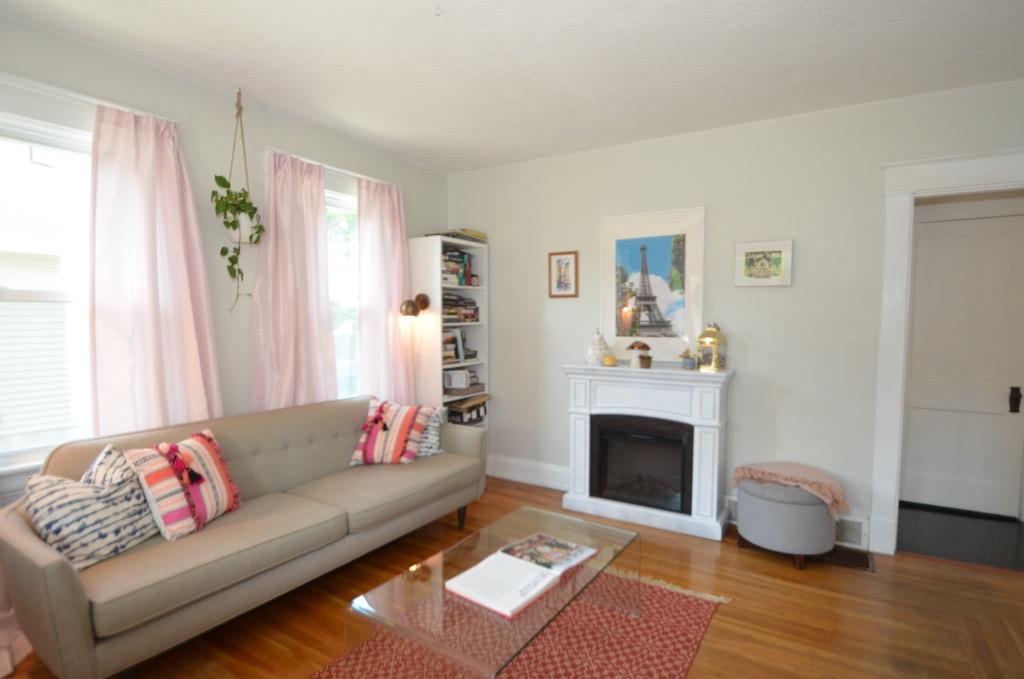 The best way to describe this Pinterest ready interior is bright & airy.