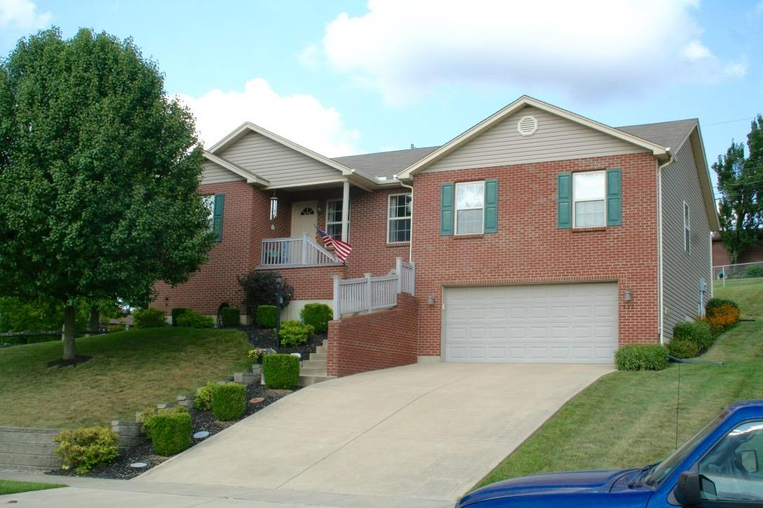 Beautiful updates in this split floor plan brick ranch. Features include Brazilian cherry HWF in LR/DR/Kitchen. Gorgeous 2-tone cabinets, SS appliances & granite tops in this dream kitchen that also boasts a planning desk & pantry. Spacious Master suite offers granite vanity top & updated flooring in BA. Hall BA updated as well. Huge garage.