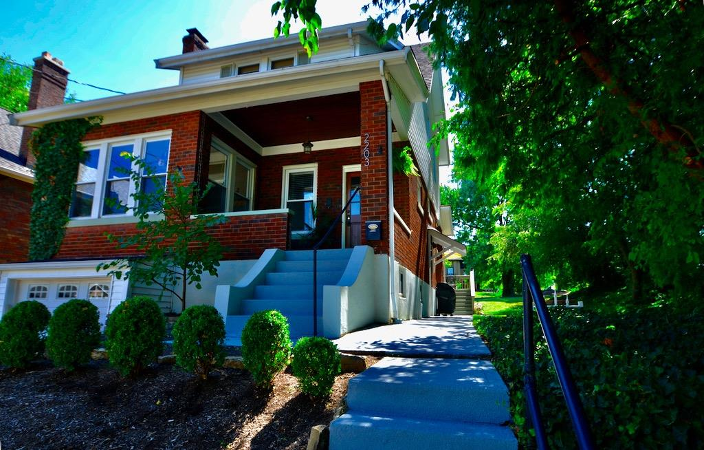 This unassuming Craftsman Bungalow is more than meets the eye!  2 bonus spaces - sunroom on 1st floor & a 3r floor study!