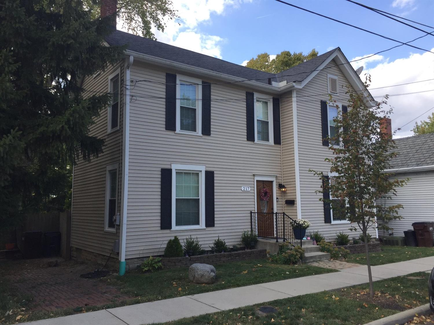 Property for sale at 217 N East Street, Lebanon,  Ohio 45036