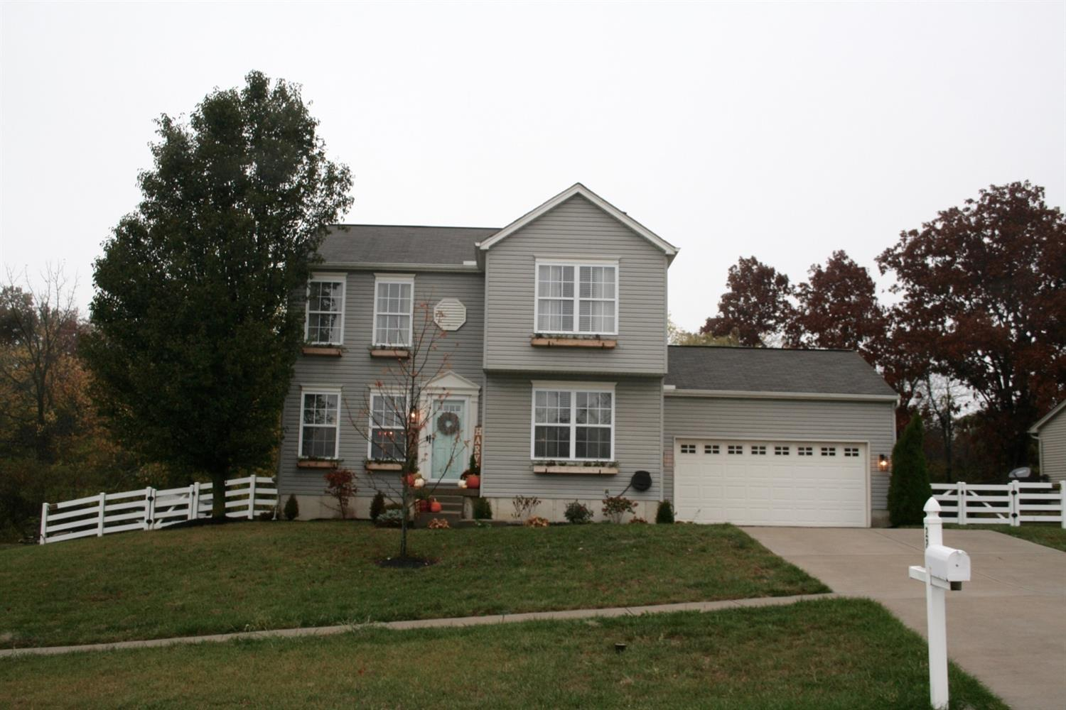 Don't miss out on this beautiful 2 story home featuring hard wood floors throughout and an updated kitchen. Also offers a 1st floor office, 2nd floor laundry, and a morning room with French doors out to a spacious fenced in yard.  The full basement with a rough in and egress window is waiting for your finishes!