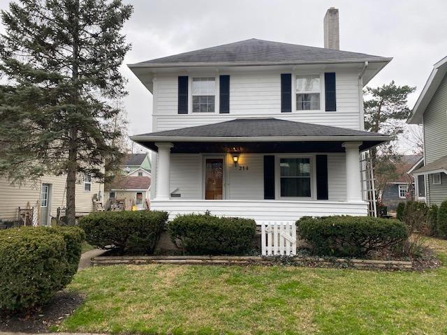 Norman Rockwell setting. Spacious 2 story with 1 full bath w/b fireplace new windows,HWH,exterior and interior painted in the last month.20x30 2 car oversized garage. This wont last!