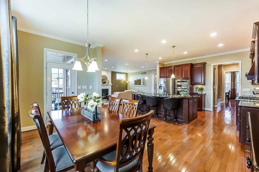 Real hardwood floors throughout entire first floor!