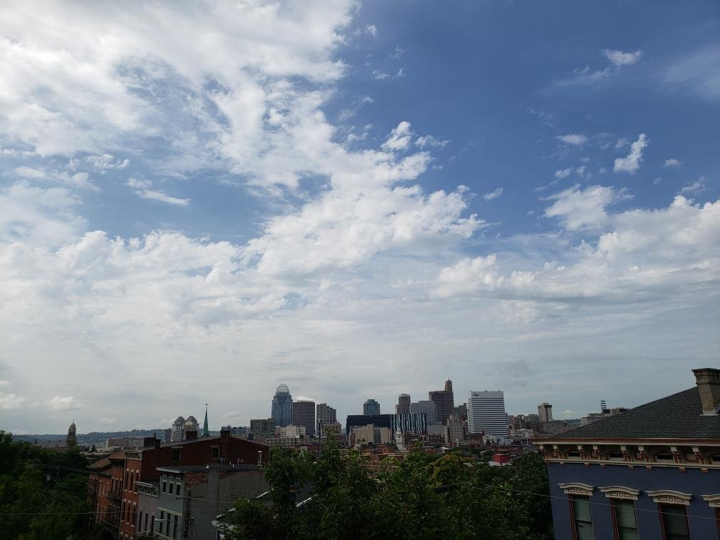 Imagine taking in this sight while relaxing on your porch and sipping your favorite beverage. In addition, everything that Over-The-Rhine and downtown has to offer is less than a one (1) mile walk from your front door!