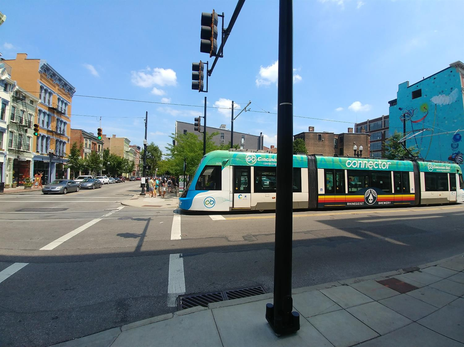 Cincinnati's street car provides quick and easy access to all that downtown has to offer... New construction homes in lower Mount Auburn within a few blocks of everything that OTR has to offer! You can't beat this location!
