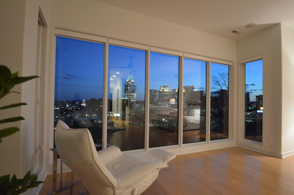The night time views are quite spectacular!  WINDOWS: new Pella sound dampening casement windows in 2021.