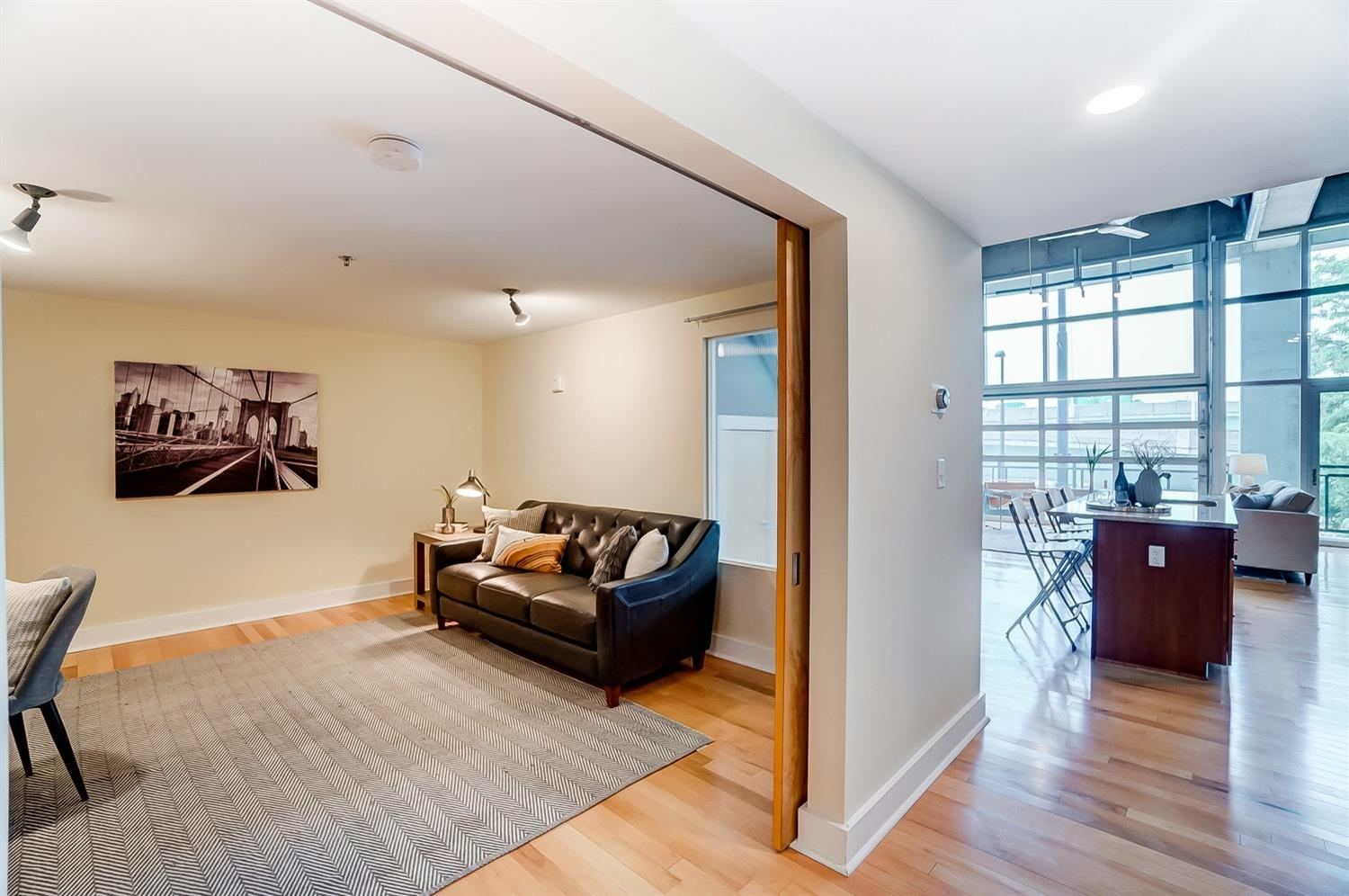 1st floor bedroom/flex space makes a perfect office