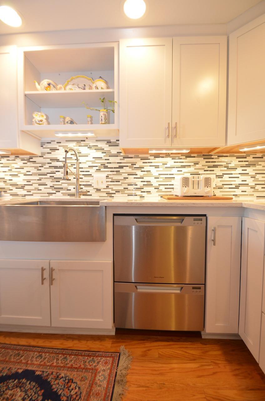 Fisher & Paykel Dishwasher drawers.
