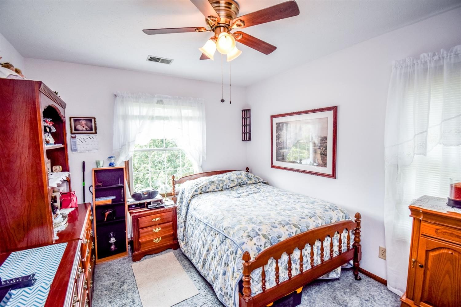 Bedroom 4 with large closet
