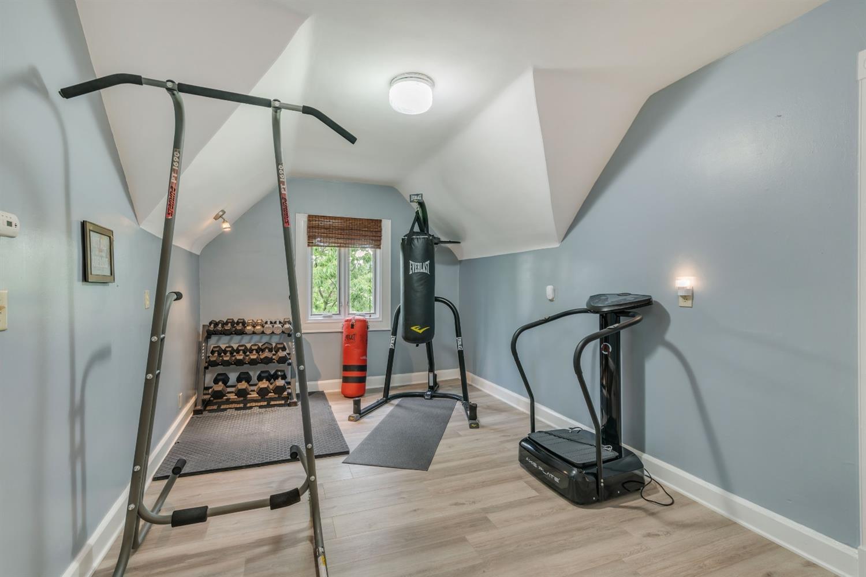 3rd Floor gym.