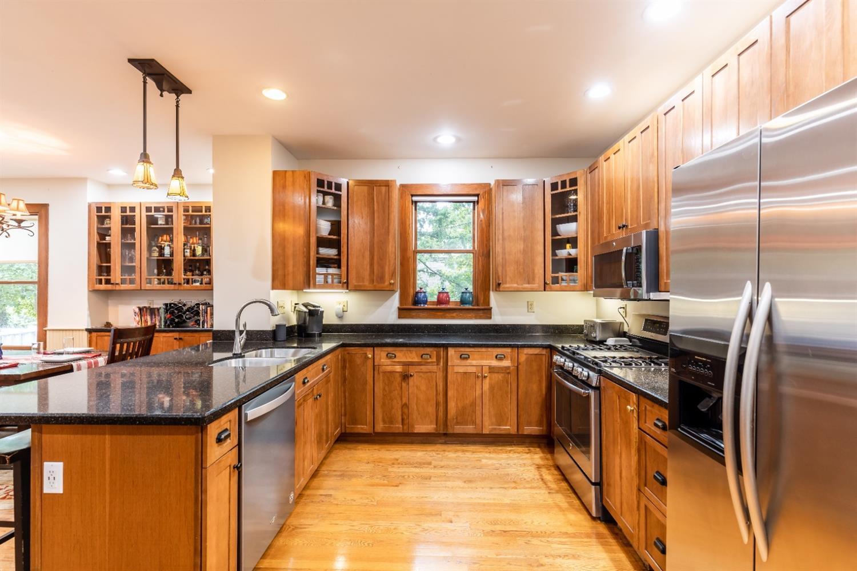 Light filled kitchen.