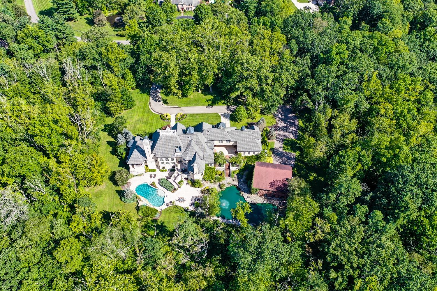 From top to bottom, inside and out, this rare estate has been lovingly constructed of the highest-quality materials to accommodate the finest lifestyles.