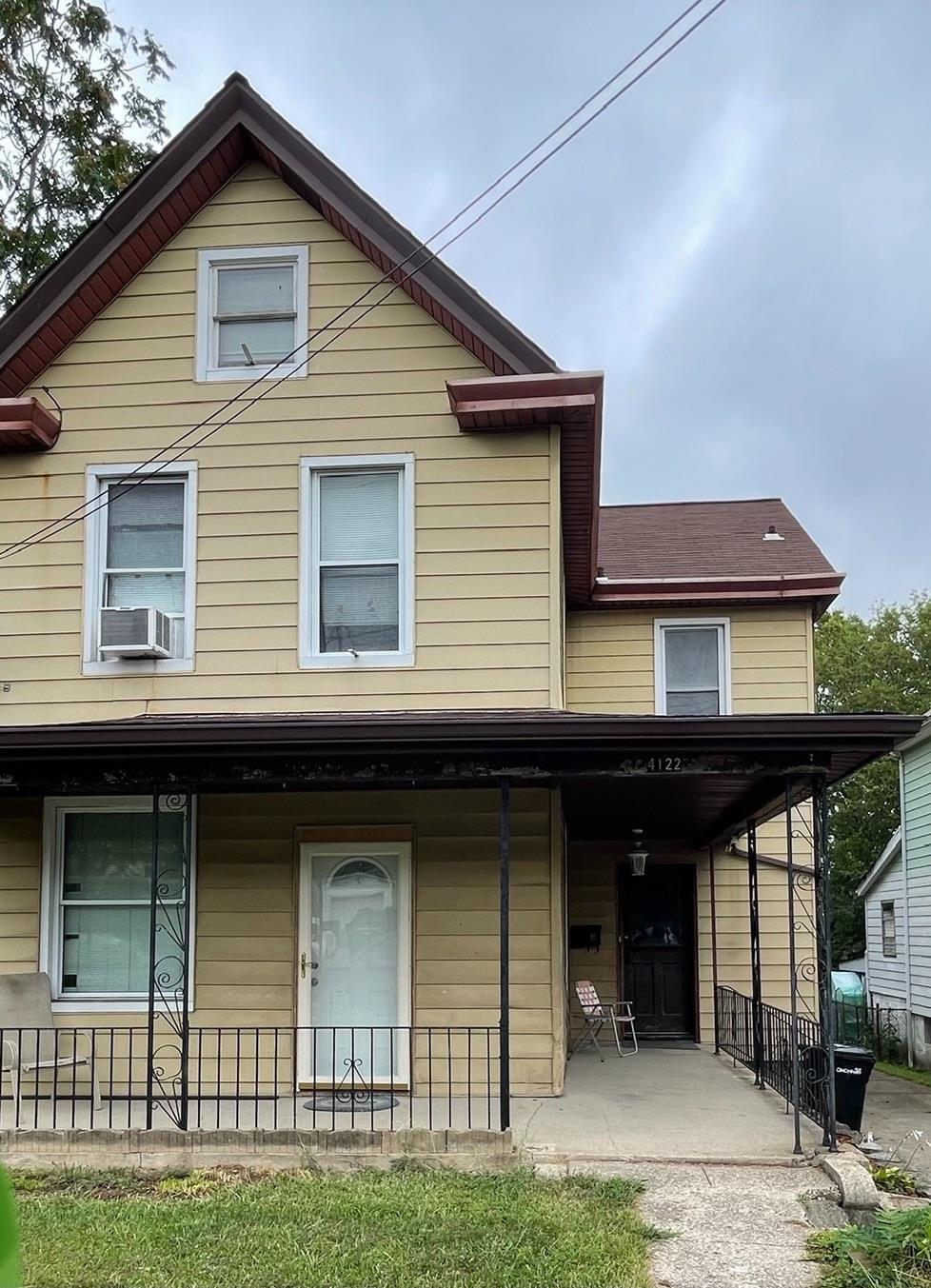 4122 Flower Avenue, Cincinnati, Ohio 45205, 5 Bedrooms Bedrooms, 9 Rooms Rooms,2 BathroomsBathrooms,Single Family Residence,For Sale,Flower,1714870