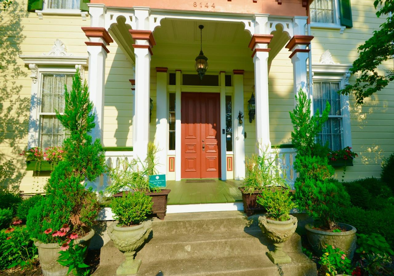 Here is a detail shot of the lovingly restored front porch.  Who knew there was such rich history in one of Ohio's top rated school districts?  And only 20 minutes from Downtown Cincinnati, universities and hospitals.  And 5 minutes to Kenwood shopping mecca.  Super easy highway (I-71) access as well.