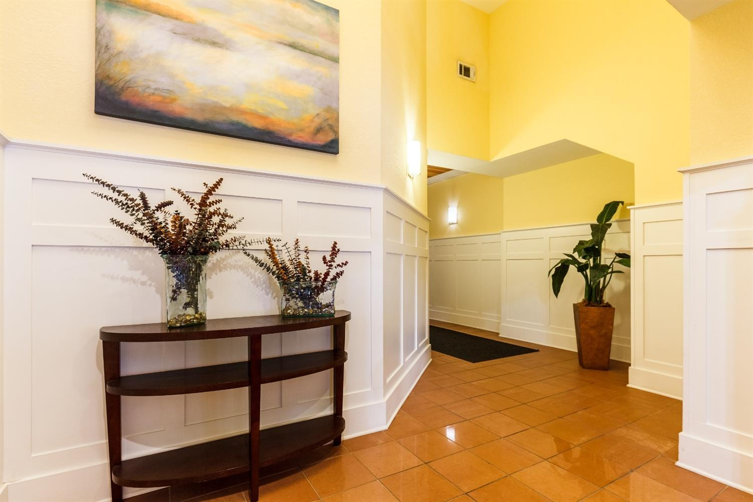 Inner lobby to elevator. This well kept property has a strong association. Secured entry system with cameras and out lobby doors lock at 6. Water/sewer, wifi/internet are included in the condo fee.
