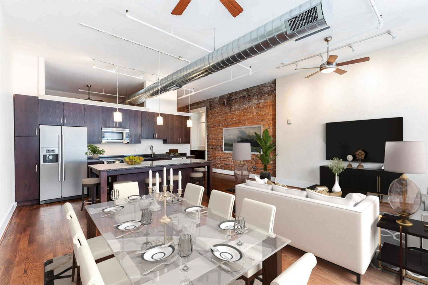 Entertaining made easy or create another seating area.  The entry includes a beautiful bar nook. Soaring ceilings give this spacious area a larger spatial dimension.