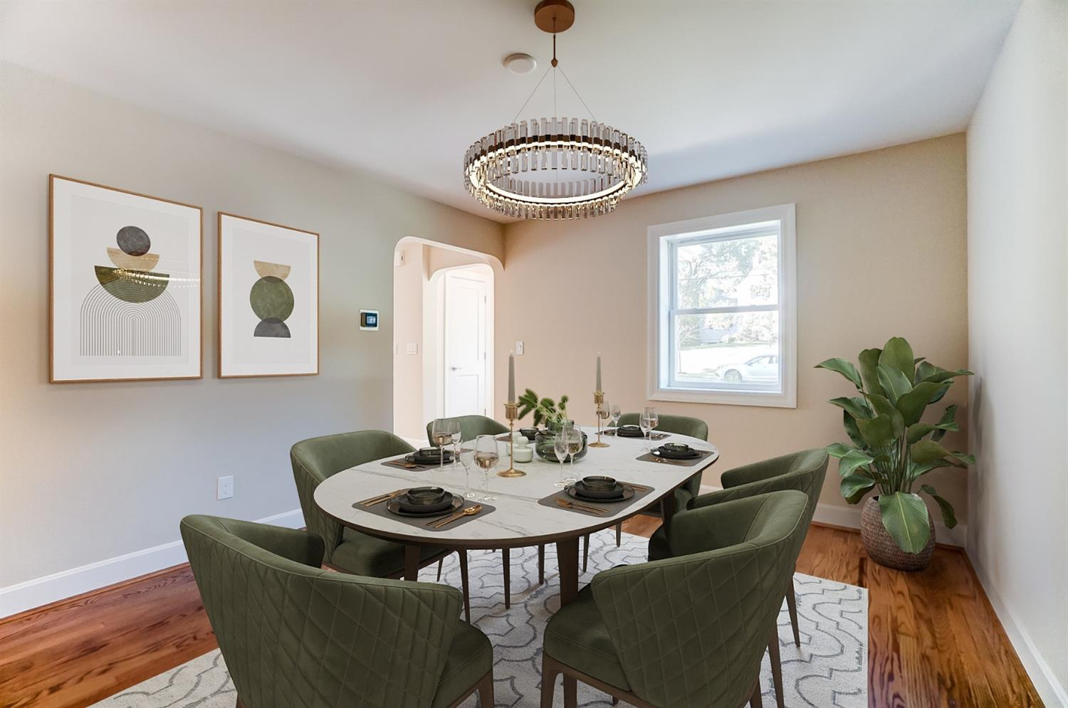 Virtual Staging: Dining Room