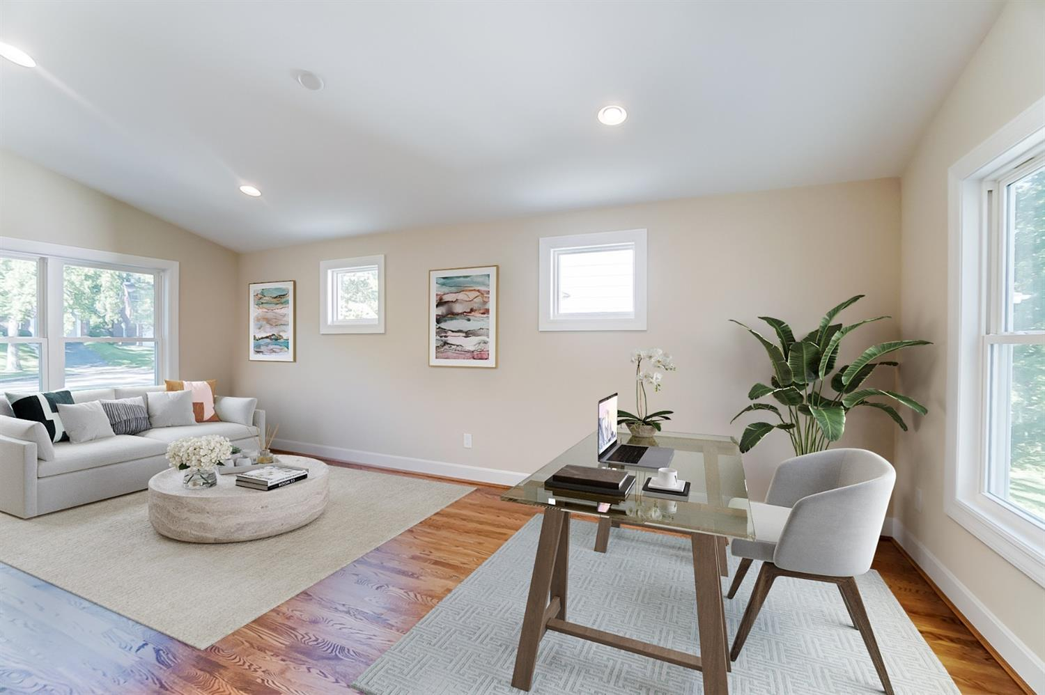 Virtual Staging: Office / Guest Room