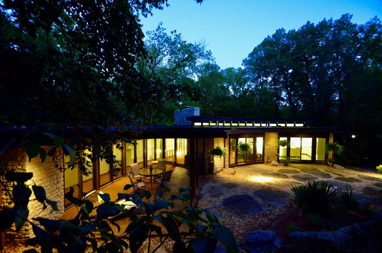 Click on Virtual Media link!  The Runnels family commissioned this masterpiece in 1965 on a nearly limitless budget.  No wonder Ben Dombar called it 'Good Living.'  It can't be anything else!