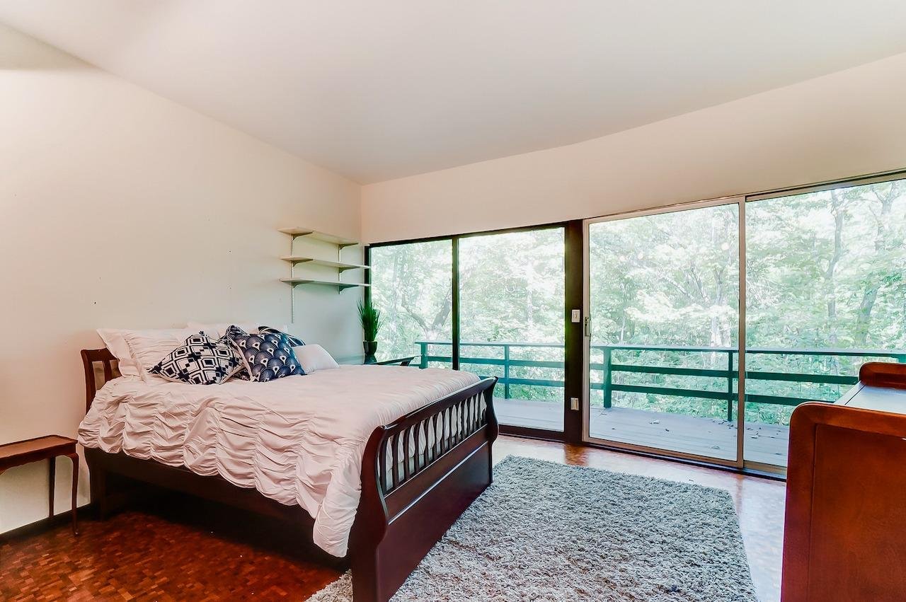 Bedroom 3.  Both of the LL bedrooms have walkouts to the LL deck.  They also have an adjoining full bath.  This room also has a walk in closet!
