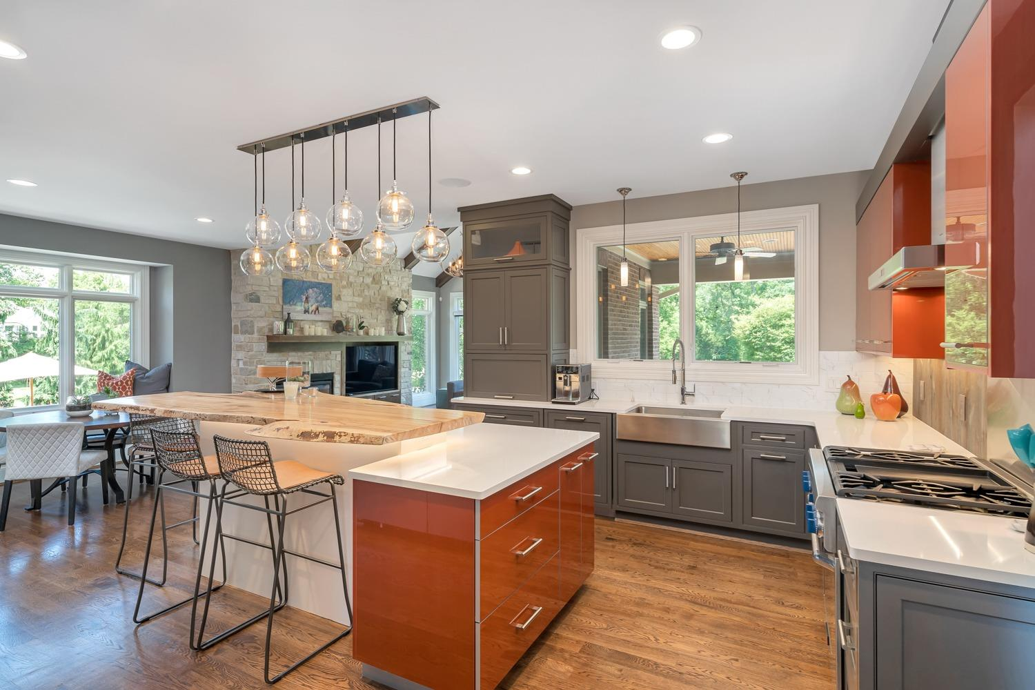 Kitchen featured in remodeling section of House Trends magazine (Nov/Dec 2017 ed.)