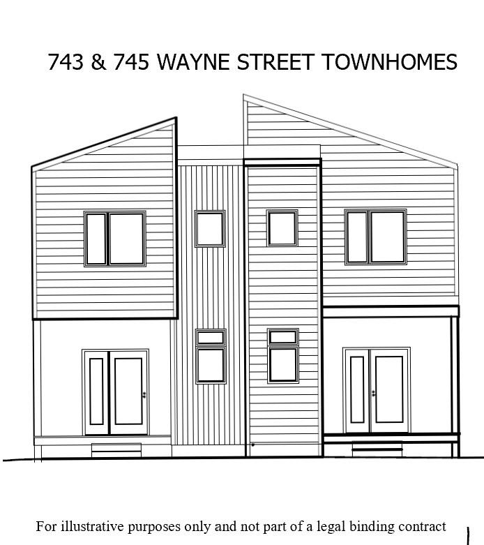 743 Wayne Street, Cincinnati, Ohio 45206, 3 Bedrooms Bedrooms, 6 Rooms Rooms,2 BathroomsBathrooms,Single Family Residence,For Sale,Wayne,1717817