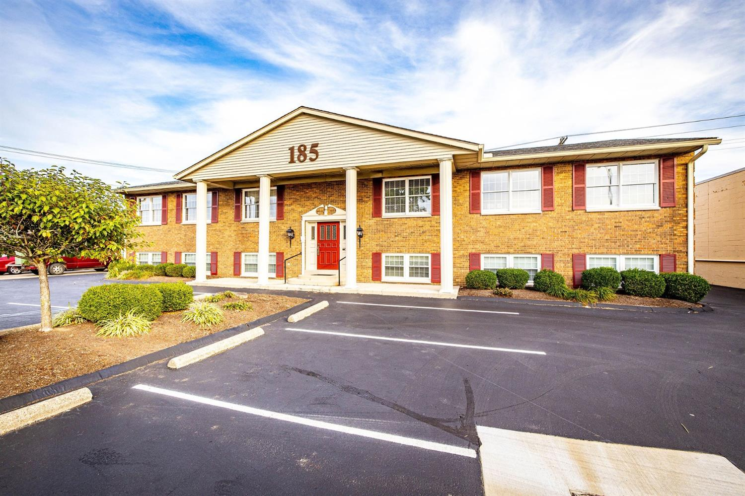 Fantastic four unit (condos) commercial building with ample parking.  6000 square feet of space. Money making opportunity for an investor who wants to rent out the four units. Each unit could be sold individually.