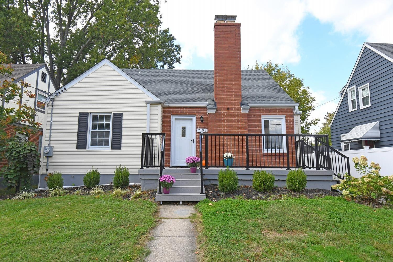 7193 Maryland Avenue, Deer Park, Ohio 45236, 2 Bedrooms Bedrooms, 5 Rooms Rooms,1 BathroomBathrooms,Single Family Residence,For Sale,Maryland,1718978