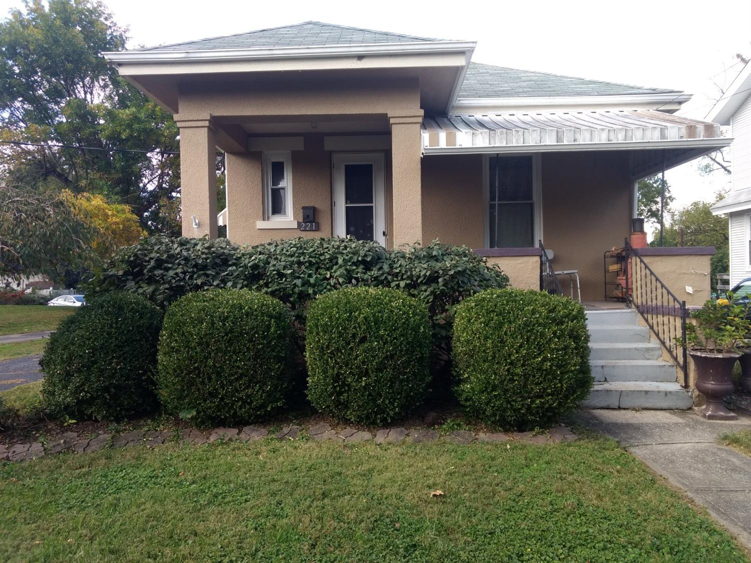 Over 940 square foot ranch with full basement and two car garage.