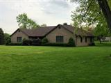 Brick ranch w/beautiful 14x27 deck on 1+acre lot-feels like a park. Wow-2x6 outside walls w/6insulation, double rolled 10in attic, bsmt-rough-in for bath, central vac sys, Anderson double hung csmnt windows. 2 sheds. New: Roof,  HVAC (Carrier) HWH in last 2 yrs. Family of original owner-SOLID CONSTRUCTION. Handicap accessible. Hurry! It won't last!