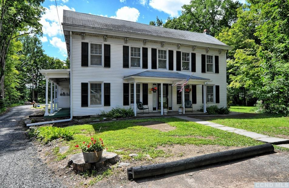 A Beautiful Center Hall Colonial with 5 Bedrooms and 3 Bathrooms Creek-side! The home has over 3,300 sq ft, a formal dining room, a living room, an eat-in kitchen, a laundry room, multiple rooms on the first floor for a bedroom or a home office, and multiple bedrooms and rooms on the 2nd floor. The home has front and side covered porches, a rear deck for entertaining, & a nice back yard for play. The Main St residence offers walking distance and access to the local stores, park, and amenities on Main St. It's a Great Home along the Shingle Kill Creek! View our 3D Virtual Tour for this home.