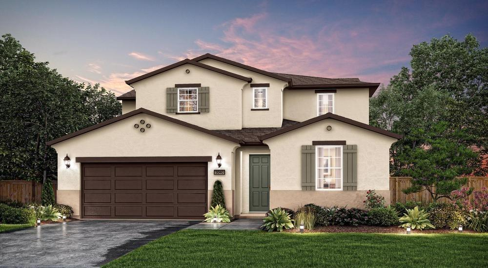 The elegant Saffron floorplan by Century Communities at Tapestry welcomes you into an entertainer's dream home. This tiled roof home has spacious interiors that lead you to your formal dining room, great room, and an open nook overseeing into the beautiful gourmet kitchen. The gourmet kitchen boasts granite counter tops with accent backsplash, generous island, and spacious walk in pantry. An isolated bedroom and full bath are available downstairs for guests. Upstairs you are welcomed by a spacious loft perfect for additional entertaining. Walk down the hall, passing two additional bedrooms and full bathroom, arriving at your own private oasis and Owner's Suite. Home furnished with dual vanities, and an enormous walk-in closet with wood shelving. Distinctive features with all the comforts of energy efficiency, including dual zone HVAC Dual Pane Windows and Tank-less Water Heater. Please note, picture is not of actual home.