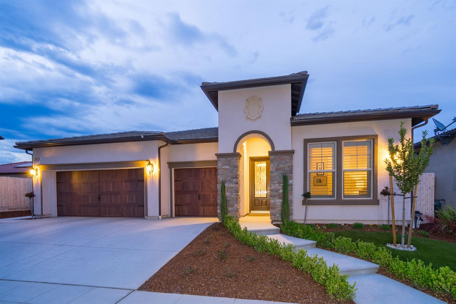 Located in the prestigious Copper River Ranch community within the gates of Via Fiore, this wonderful Bella Model is ready to go! Built less than 2 years ago by the award winning builder Granville Homes, you will be welcomed into a bright open concept living space ideal for entertaining. Featuring 4 bedrooms and 3 bathrooms, this home is also equipped with granite counter tops, stainless steel appliances, recessed lighting, updated flooring, surround sound throughout, and motorized blinds at your control! The master suite showcases his and her vanities, an over-sized soaking tub and large master walk-in closet to fit anyone's shopping habits! Do not miss out on this great opportunity near Copper River CC, parks, and top of the line schools.