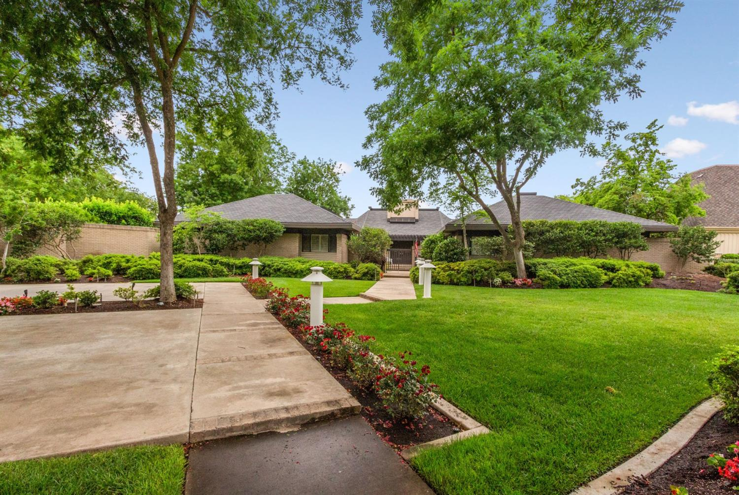 Spectacular estate property on the bluffs at San Joaquin golf course. Architecturally designed & built w/marvelous view of the golf course, the San Joaquin river, & nearby estuary. Home features newer A/C, 5 year old custom slate comp roof, fresh neutral paint, custom windows, gourmet kit w/custom induction stove top, beautiful cabinets & designer granite. Views from kitchen & dinette area are breathtaking. Huge main BR w/simply gorgeous views. Main bathroom has  jetted tub & walk in shower, & a sitting area to put on make up. 2 very large walk in closets. Garage has a cooking facility. Subzero refrigerator & plenty of cabinets for china. Custom built in desk in the kitchen. The estate has it's own solar farm, owner says it costs approx $1200 per year on their PG&E. Outside the FR is a new Pebble tec pool that features special lighting. Arbor around the back of the pool for shade & relaxing. Custom award winning landscaping w/oversize lot extending to golf course. Permitted for horses.
