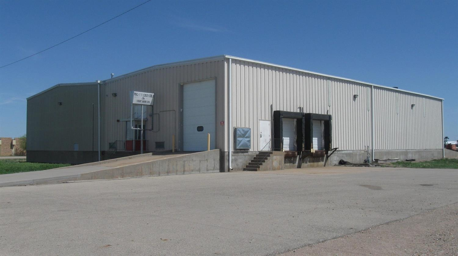 This property has approximately 1000 sq ft. of offices with CH/CA. Over 12,000 sq ft of warehouse, drive-thru with 2 OH doors and ramps and 2 loading docks, tall ceilings, insulated and OH heaters.