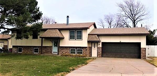 Lots of extras with this house. Check out the deck and backyard for entertaining. 4 bedrooms and 3 bathrooms, fireplace and double attached garage.