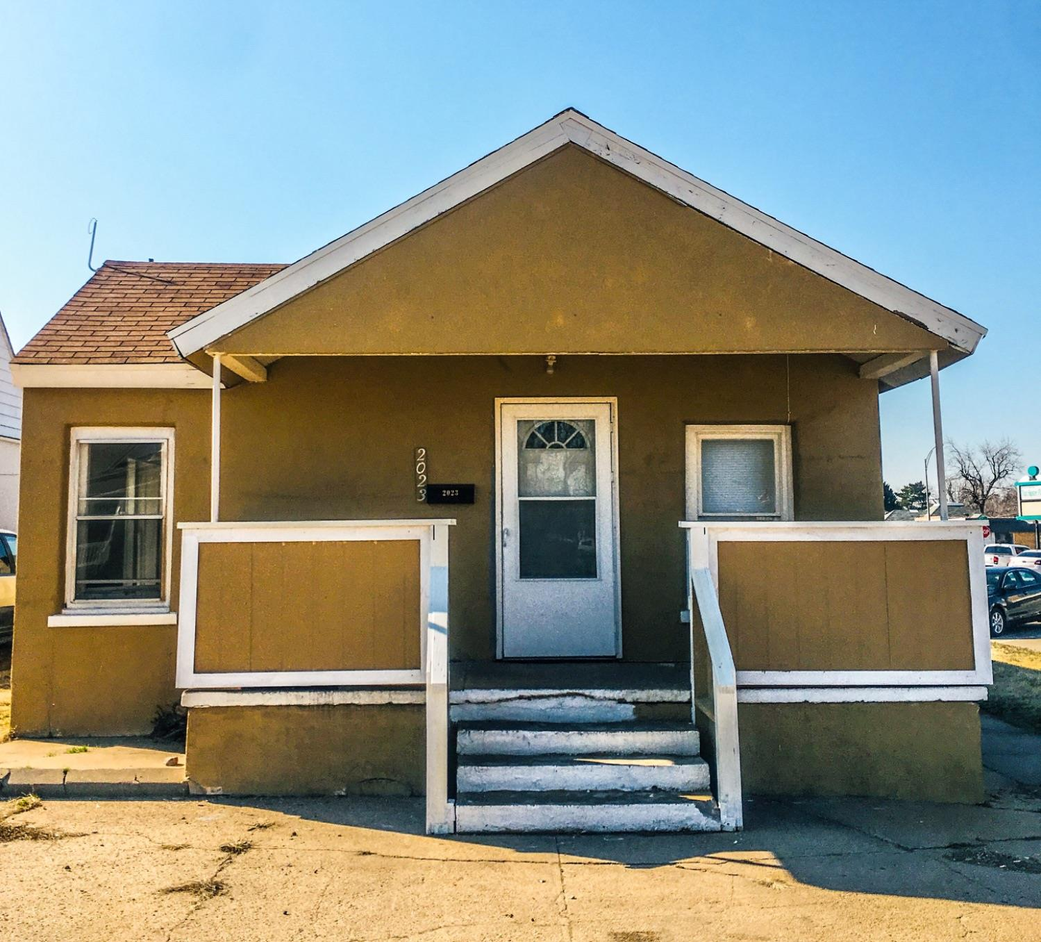 Need an office? Must see this 2 bedroom, 1 bath bungalow. Great rental investment or office space for your business. Plenty off street parking.