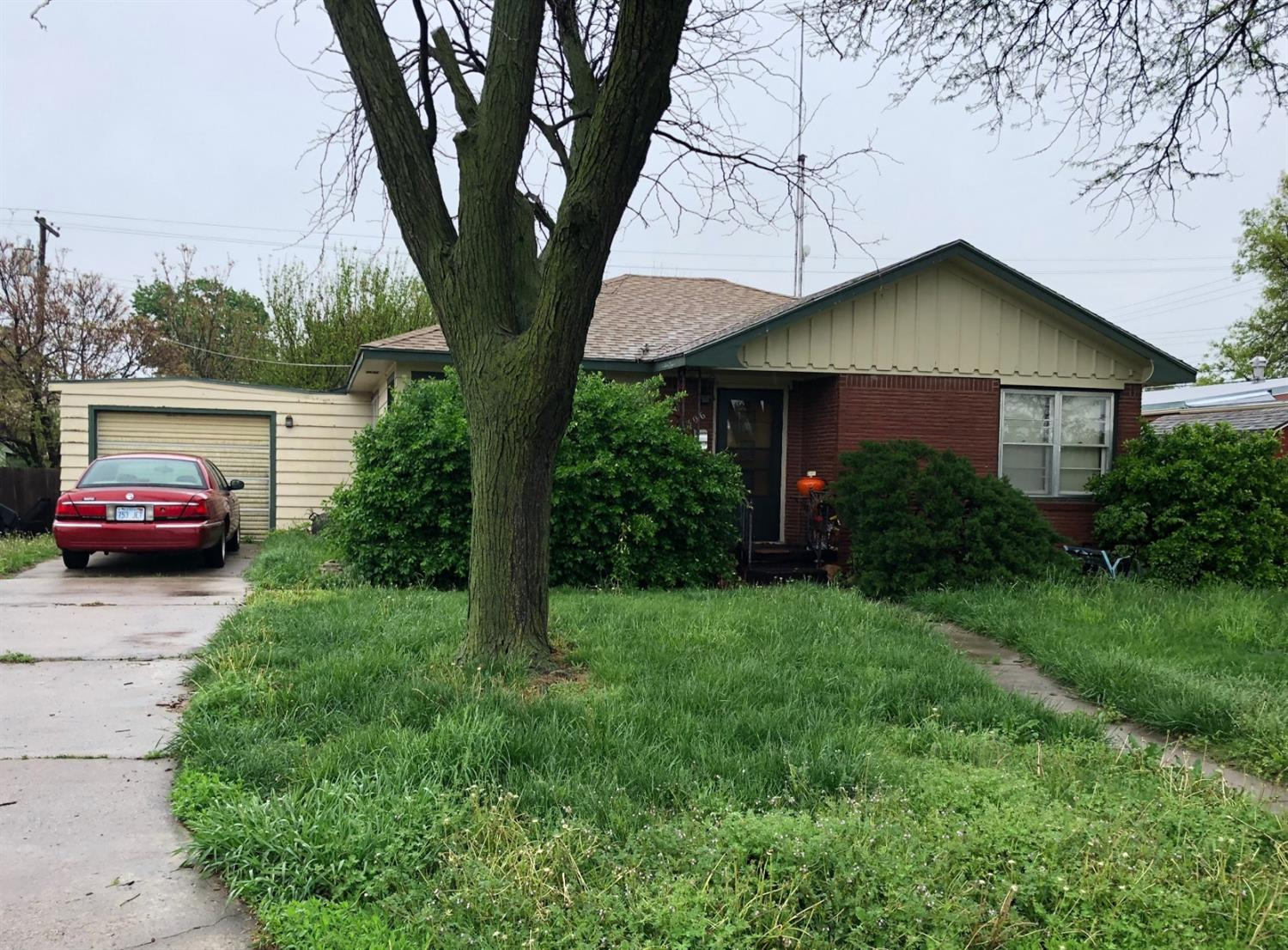 Good investment or fix up property. Well built 2 bedroom home with a good location.