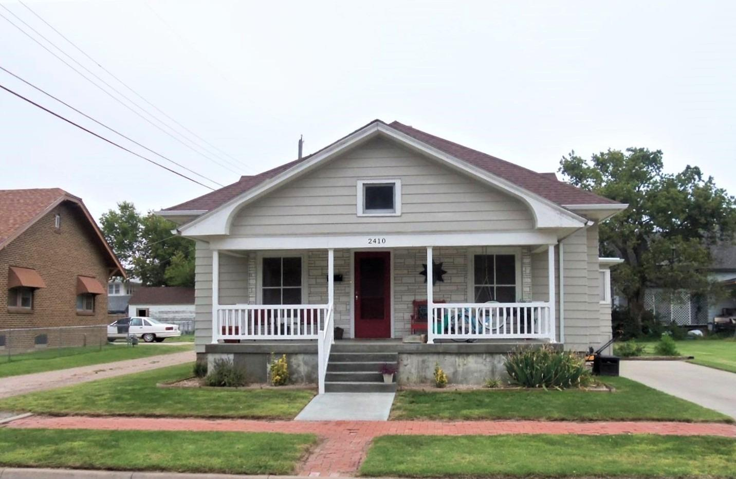Lots of charm, built-ins by the fireplace and in the dining room. Newer kitchen with appliances.  New shingles and guttering July 2017! Priced to sell call today!