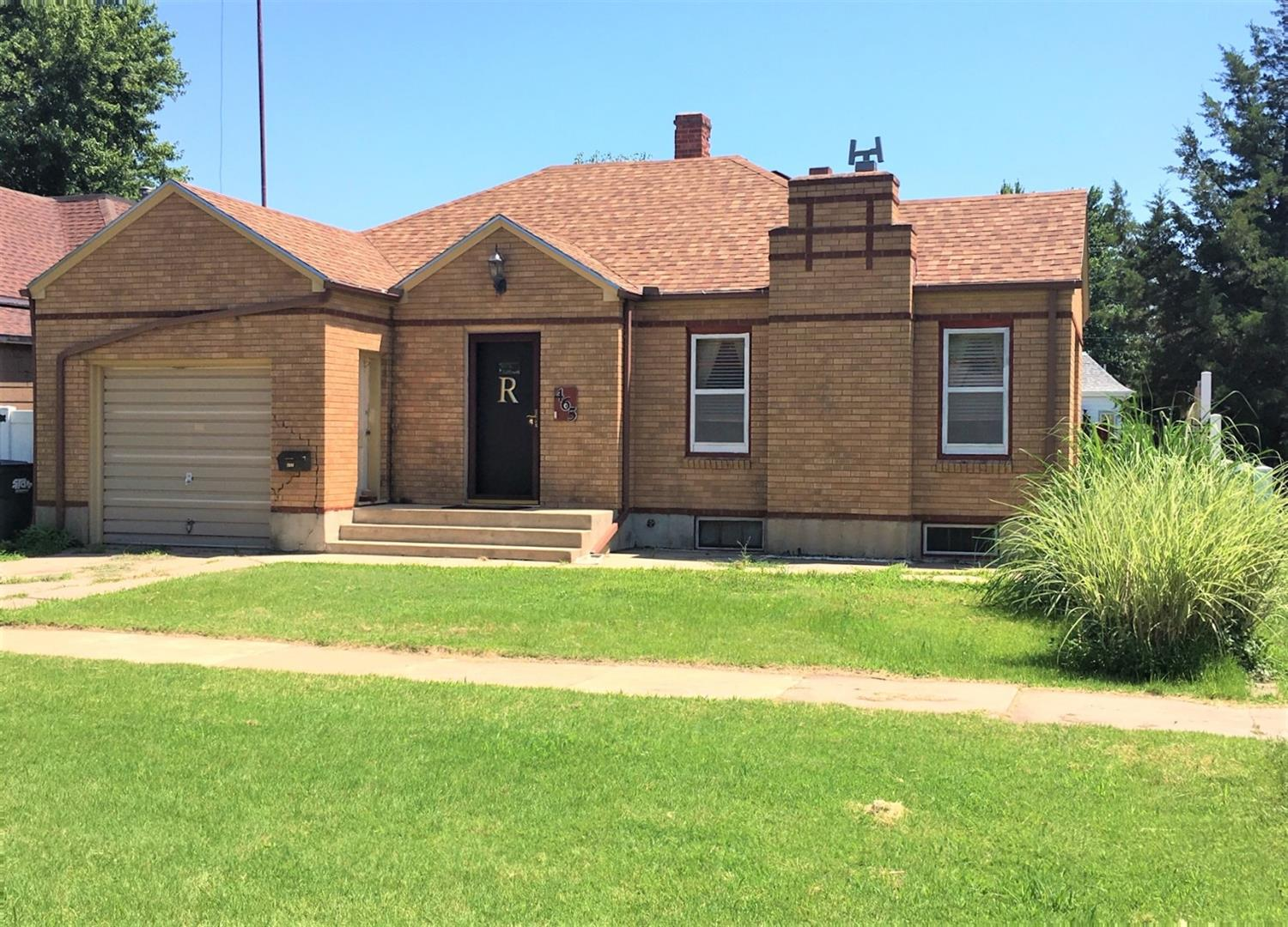 SIMPLE LIVING & Centrally located! 3 bed/1 bath with full basement, attached garage PLUS detached garage with alley access. RELAX & enjoy your PRIVACY in the large fenced in backyard! Don't wait-CALL TODAY!