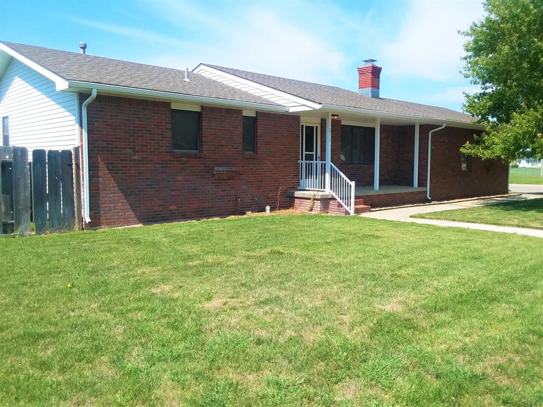 Nice brick home with 4 bedrooms, 2 3/4 baths, and  fenced backyard. Quiet neighborhood.