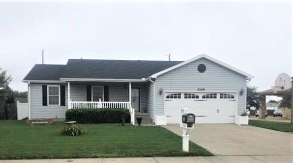 Move in ready 5 bedroom home with a full finished basement! Plenty of space for a growing family, bedrooms all include large closets! New flooring up and down in 2017, along with new roof and gutters in 2018. Storage shed out back new in 2017.Take a look at this house today!!